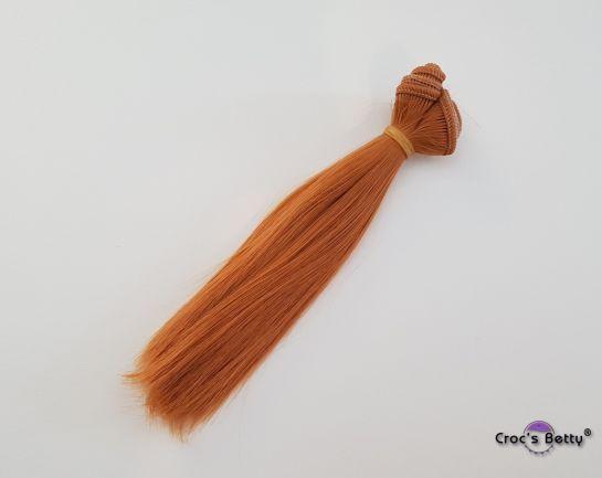 Cheveux Blond Vénitien Raides - Cheveux Raides Synthétiques 15cmx100cm