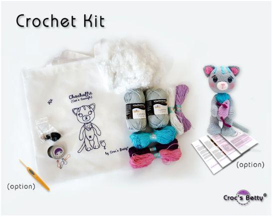 Kit Crochet - Chachuffit