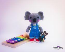 Kalypso, little Koala and his Teddy Bear
