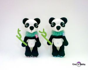 Jobie & Joba the Pandas