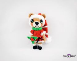 Pompom the Christmas Bear