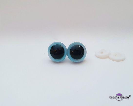 Safety Fluorescent Blue Eyes