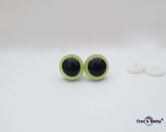 Safety Fluorescent Yellow Eyes (2 pairs)