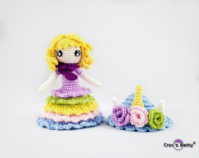 Unicorn Cupcake Doll