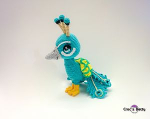 Hanzup the Peacock