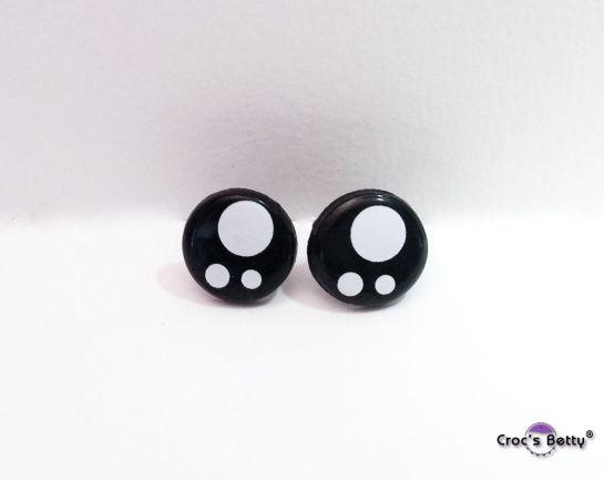 Safety Kawaii Round Eyes (2 pairs)