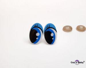 Safety Cartoon Eyes 16x25mm