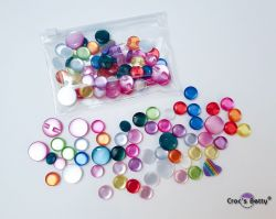 Buttons Pearl Effet - Mix