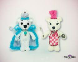 Tipecks & Farine the Teddy Bears