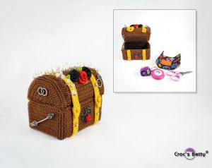 Treasure Chest Needle Pin Cushion