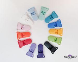 Plastic Pacifier Clip