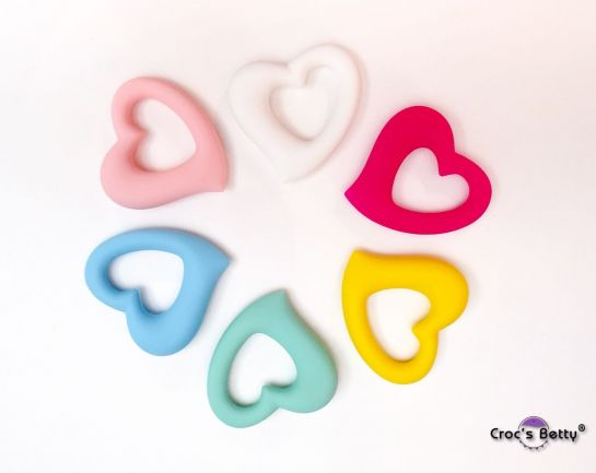 Heart Baby Silicone Teething