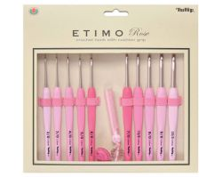 Set Tulip Etimo Pink Crochet Hooks
