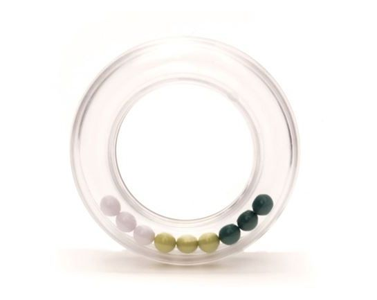 Rattle Ring Green