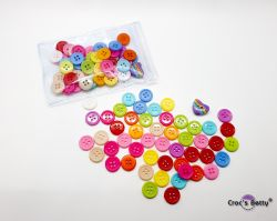Boutons 10mm - Mix