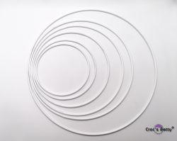 White Dreamcatcher Ring
