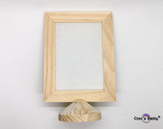 Cadre en Bois avec Toile 13x22cm