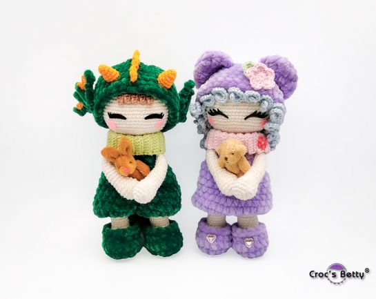 Mirabelle & Léon the Soft Dolls