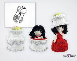 Pack Wedding Cake Doll (Catona)