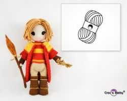 Pack Quentin le joueur de Quidditch (Catona)