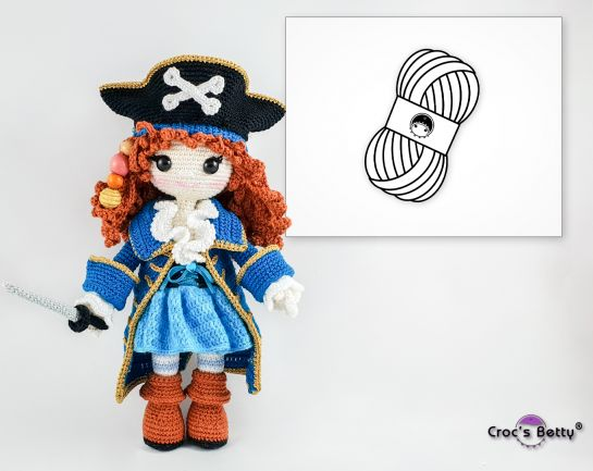 Pack Pearl the Pirate (Catania)