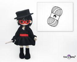 Pack Zara & her Zorro Outfit (Catona)