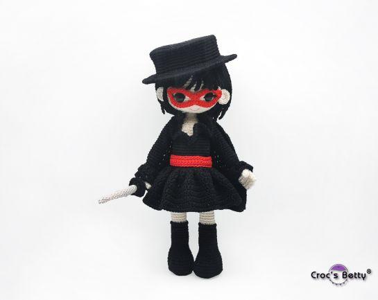 Zara & her Zorro Outfit