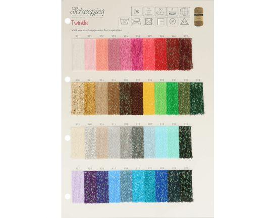 Twinkle Scheepjes Color Chart