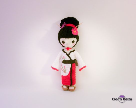 Craquotine, la petite Geisha