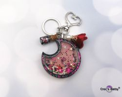 Black & Pink Moon Shaker (single piece)