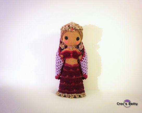 Craquotine, little Indian Dancer