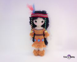 Craquotine the little Native Indian