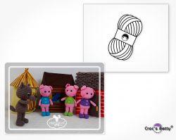 Pack Les 3 Petits Cochons (Catona)